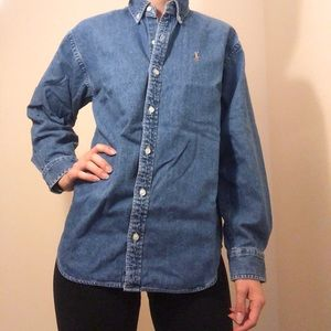 Ralph Lauren Denim Button Down